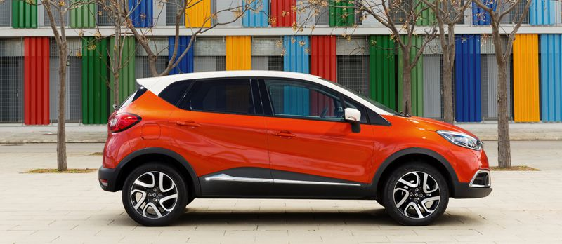 Renault Captur met Prive Lease