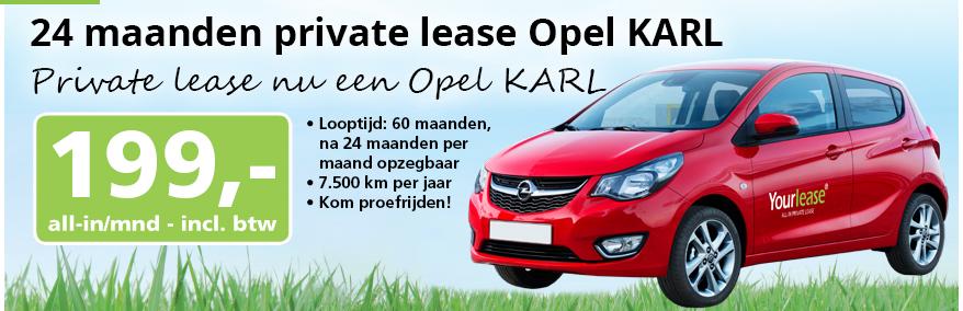 Yourlease Opel Karl